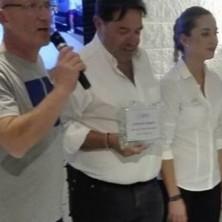 Premiato il telecronista ed ex ciclista pro Riccardo Magrini