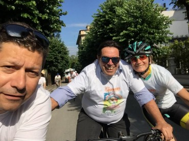 Gran Fondo Montecatini Terme Riccardo Magrini.. buona la terza